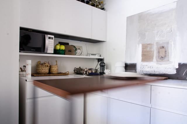 Appartamento a genova contemporaneo cucina other for Cucina arredi genova