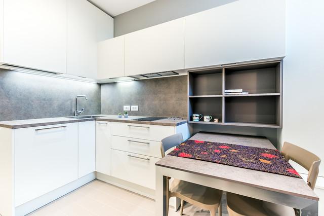 Appartamento di 50mq in Milano - Zona Fiera - Contemporaneo - Cucina ...