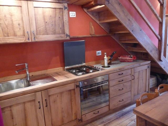 Arredamento casa Walser - In Montagna - Cucina - Torino - di ...