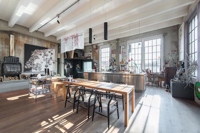 Artist's Loft Atelier Industriell Kök Milano av