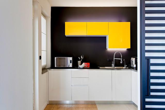 Attico in provincia contemporary kitchen other by antonio