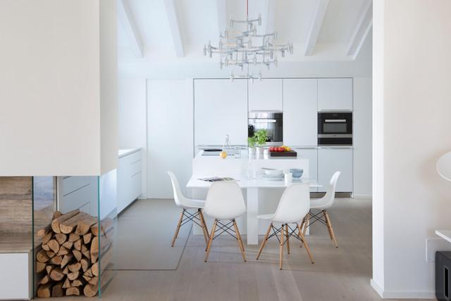 Attico Verona contemporaneo-cucina