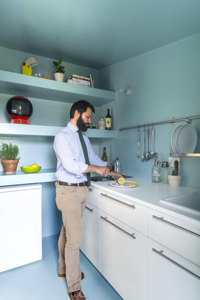 Idee per una piccola cucina scandinava