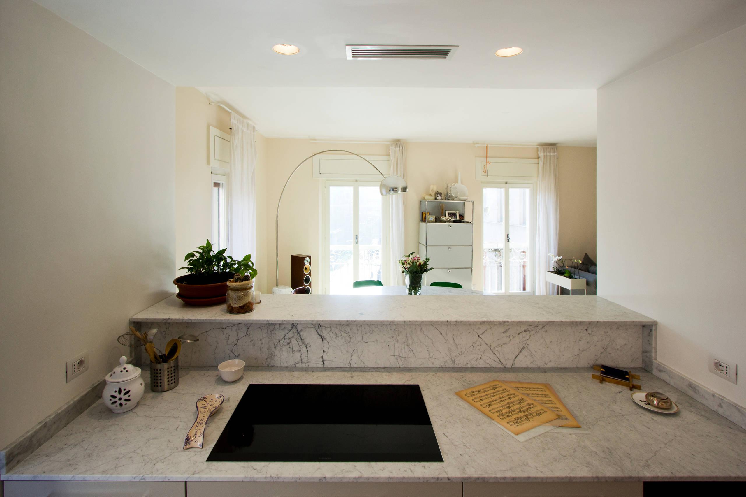 C8 - soggiorno e cucina - 100 mq