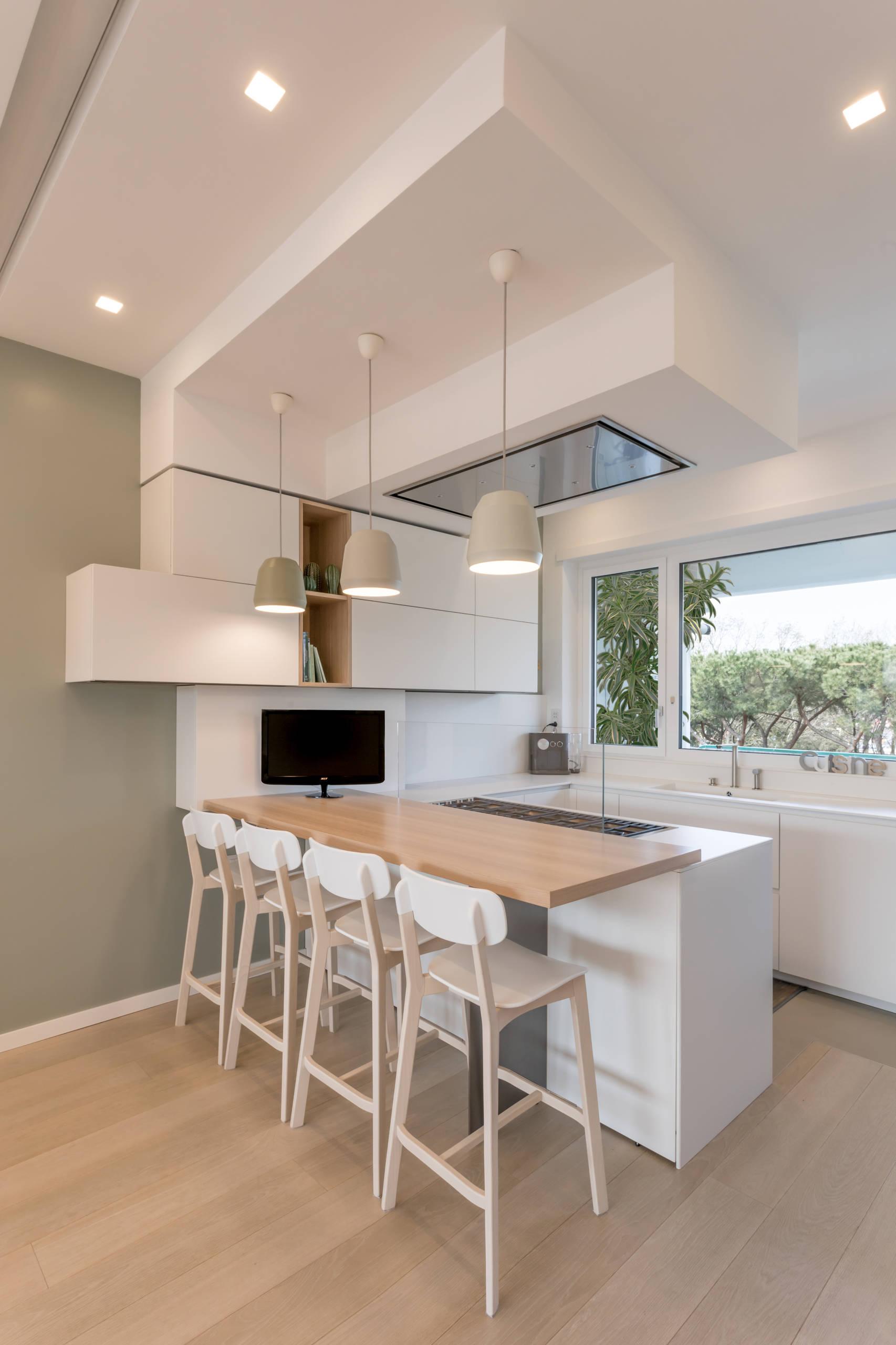 Immagini Cucine Moderne Con Finestra.Cucina Con Finestra Sopra Lavello