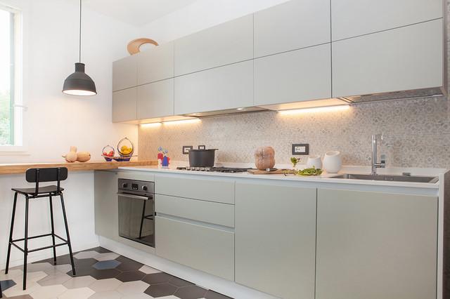 Casa gion per senzanumerocivico contemporaneo cucina