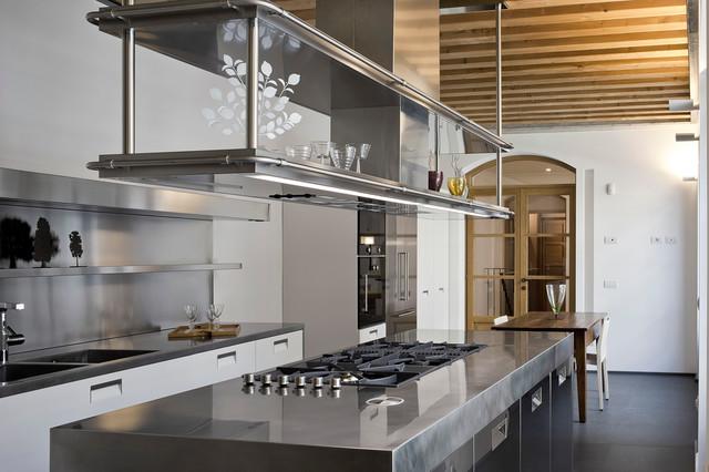 Casa Privata Milano - Industrial - Kitchen - Milan - by Produzione ...