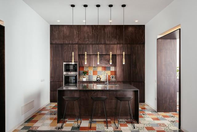 Casa si contemporaneo cucina napoli di manuarino