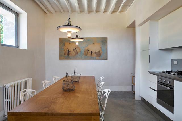 Casale di Cellole eclettico-cucina