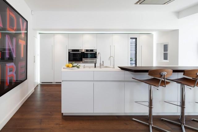 Collezione d90 cucina con isola contemporary kitchen for Houzz cucine