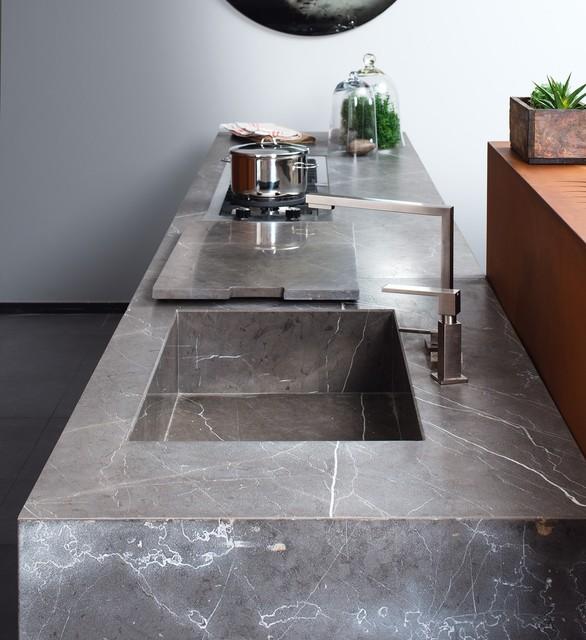 Collezione D90 | Cucina senza maniglie - Contemporaneo - Cucina ...