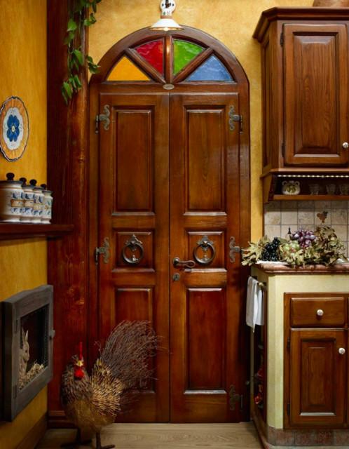 Complementi di arredo artigianali in legno in campagna for Complementi di arredo cucina