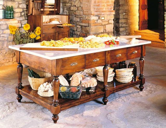 Complementi di arredo artigianali in legno - Country - Cucina ...