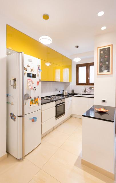 cucina a vista moderno-cucina