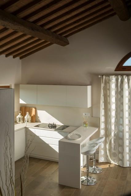 CUCINA CON VISTA - Farmhouse - Kitchen - Florence - by Andrea Lisi