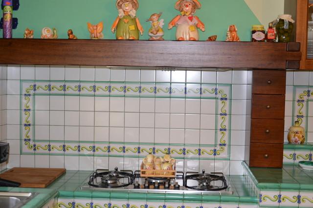 Ceramiche Di Vietri Bagno.Cucina In Ceramica Di Vietri