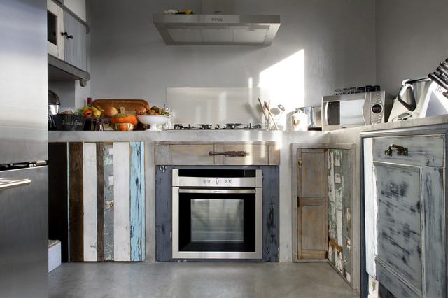 Cucine Shabby Chic In Muratura.Cucina Legno Di Recupero E Muratura Shabby Chic Style Cucina