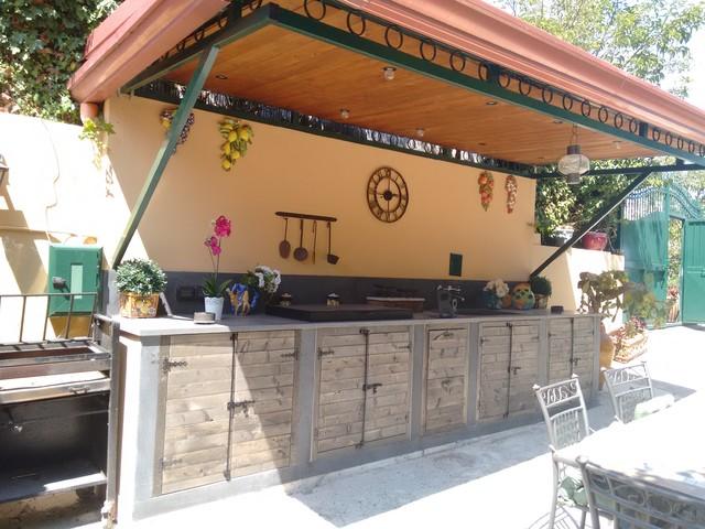 Cucina In Muratura Rustica Esterna.Cucina Rustica Esterna Country Kitchen Naples By