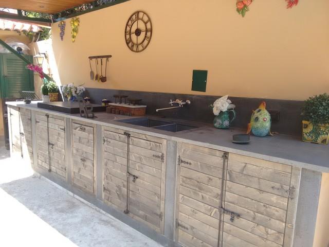 Relativamente cucina esterna in muratura kw55 pineglen - Cucina esterna in muratura ...