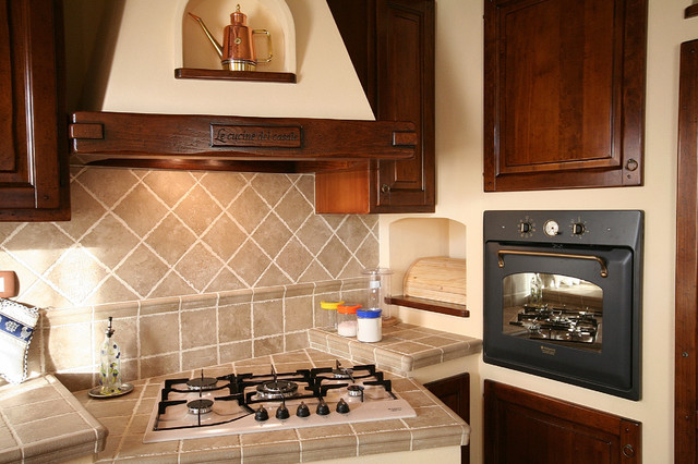 Cucina rustica in muratura - Country - Kitchen - Other - by ...