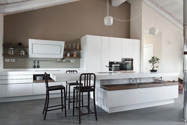 Falegnameria gardiman abitazione privata cucina for Modern zion kitchen
