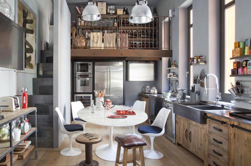 Interior relooking: zona pranzo in cucina