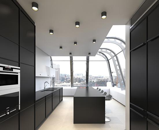 Illuminazione led soffitto parete contemporaneo cucina altro di lighting projects - Illuminazione per cucina moderna ...