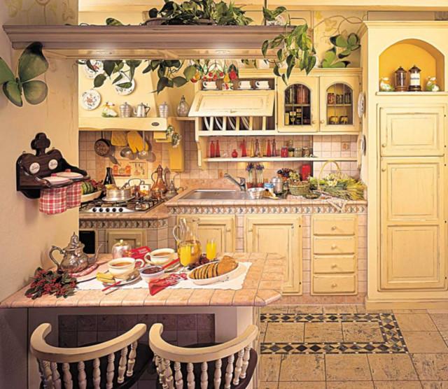 Le nostre cucine artigianali in legno al mare cucina - Cucine artigianali in legno ...