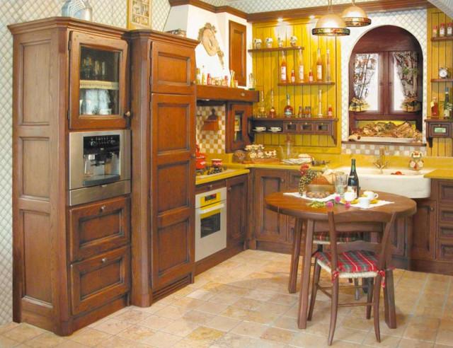 Le nostre cucine artigianali in legno in montagna - Cucine di montagna ...