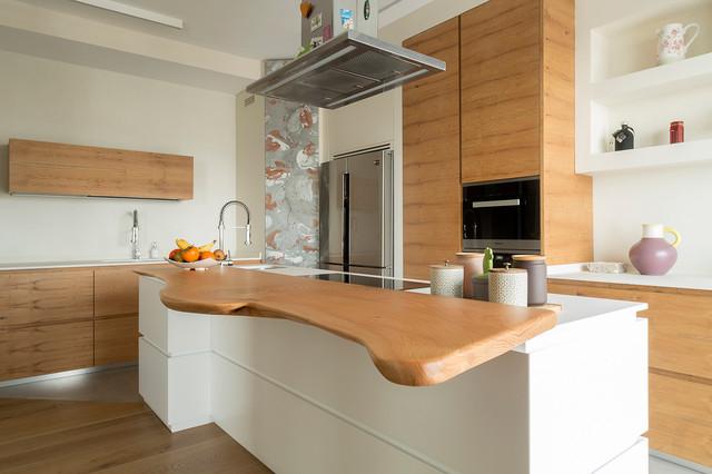 Legno Naturale, bellezza pura   MQ 40 - Modern - Küche - Rom ...