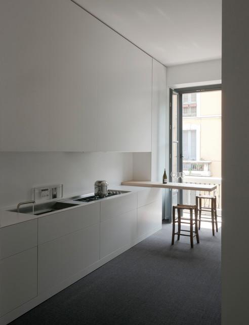 loft per un collezionista - Moderno - Cucina - Milano - di ...