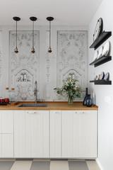 Просто фото: Фартук для белой кухни — 26 вариантов
