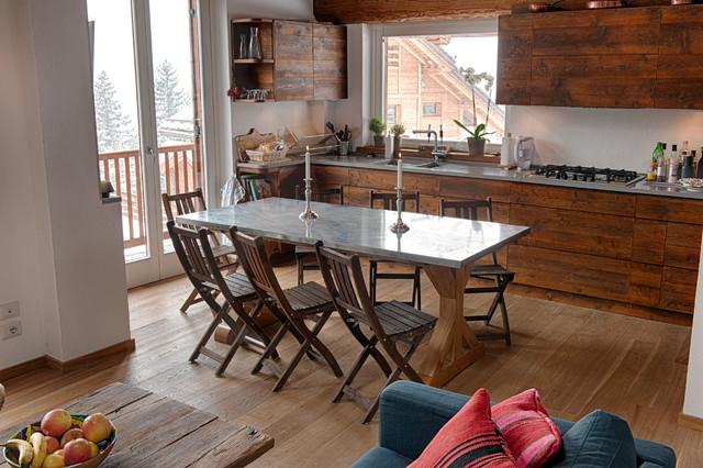 Oulx in montagna cucina torino di stevephoto di stefano