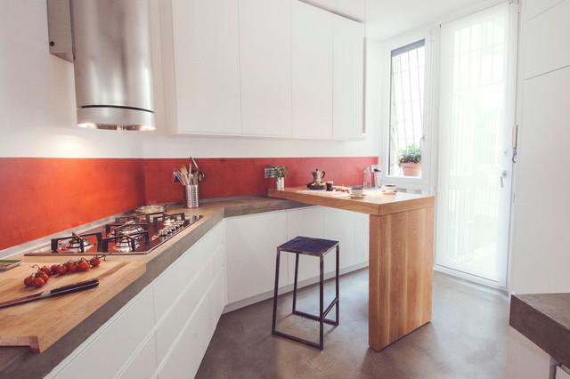 Le cucine con penisola guida houzz - Comporre una cucina ...