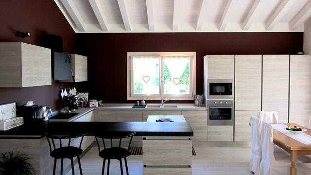 Realizzazioni interni casa living e cucine for Casa contemporanea arredamento