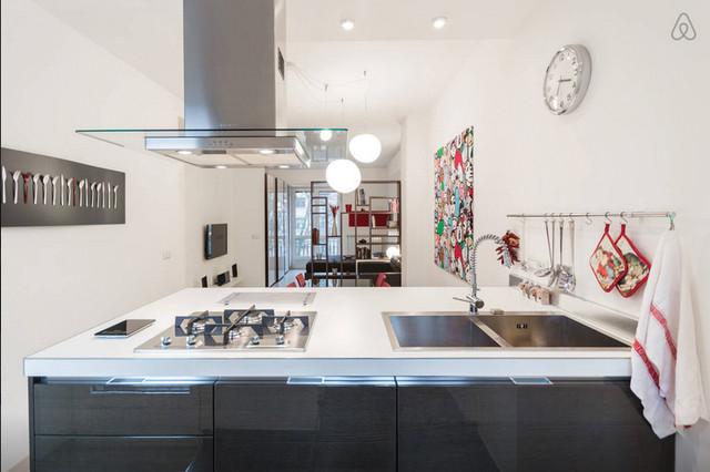 Ristrutturazione appartamento anni \'40 - Contemporaneo - Cucina ...