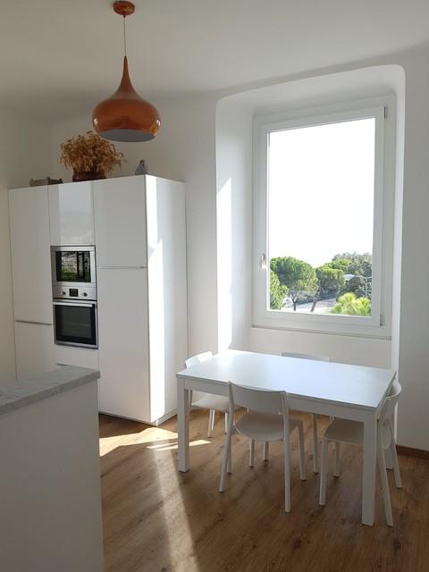 Ristrutturazione appartamento contemporaneo-cucina