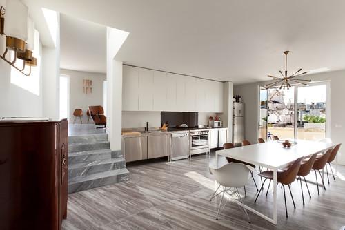 Pavimento diverso open space cucina for Open space moderni
