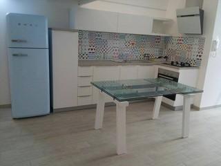 Schienale cucina con riproduzione grafica cementine e - Cementine cucina ...