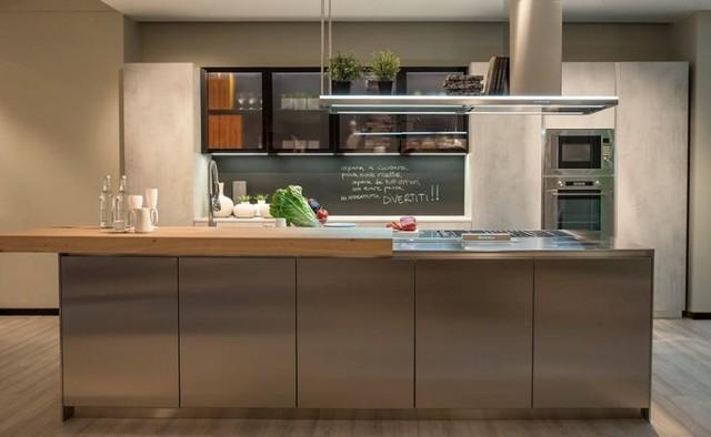 Schienale cucina con vernice lavagna hr alta resistenza - Vernice per cucina ...