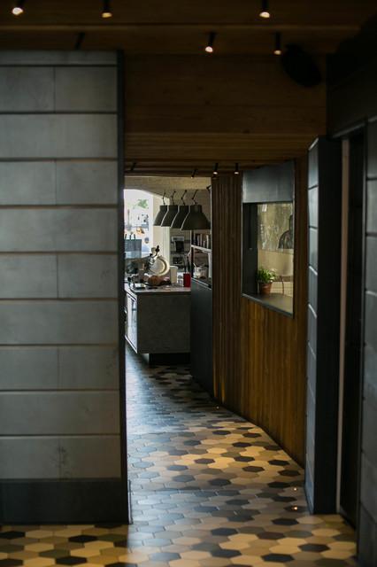 Foto di una cucina industriale