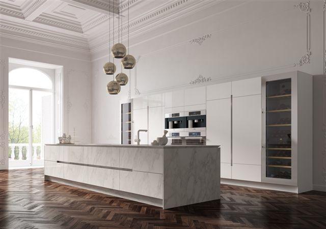 SYSTEM 19 MARMO BIANCO CARRARA - Modern - Kitchen - Florence ...