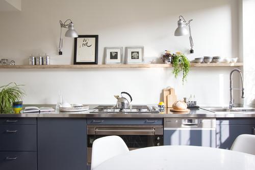 12 Idee per Arredare una Cucina Moderna Senza Pensili