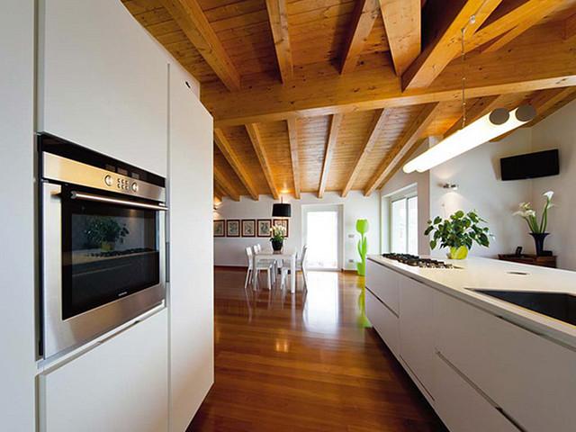 Una casa in legno secondo il gusto tradizionale for Casa in legno tradizionale