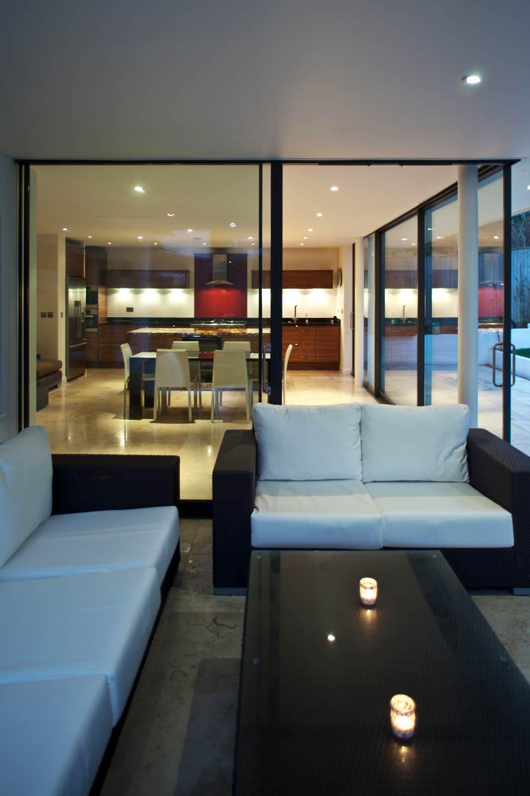 Una Veranda a Londra   Ristrutturazione con veranda   60 mq