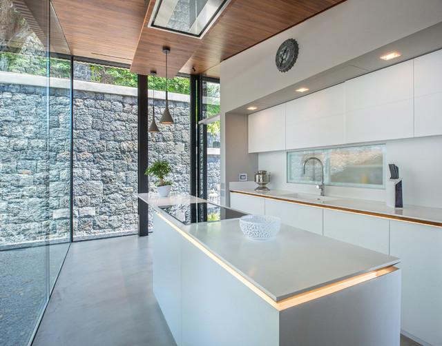 Cucina Moderna A Palermo.Villa R3 Mohd Portfolio Moderno Cucina Catania