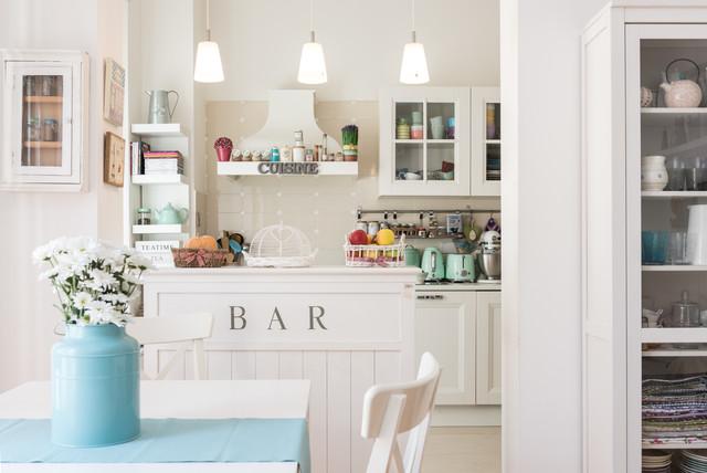 Visita privata a casa di francesca shabby chic style cucina