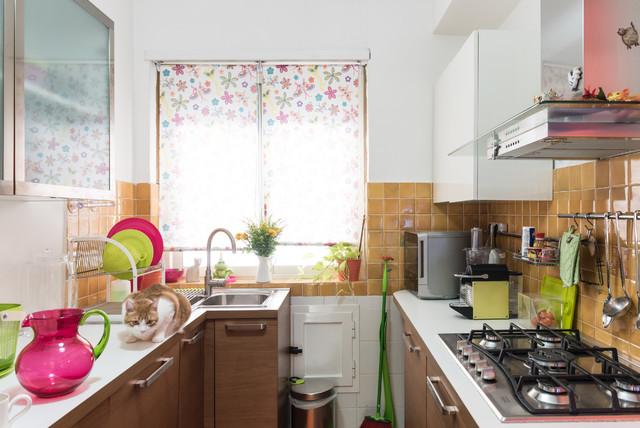 Cucina a U shabby-chic style - Foto e Idee per Ristrutturare e Arredare