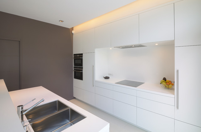 Agencement et d coration d 39 une maison contemporaine for Deco cuisine houzz