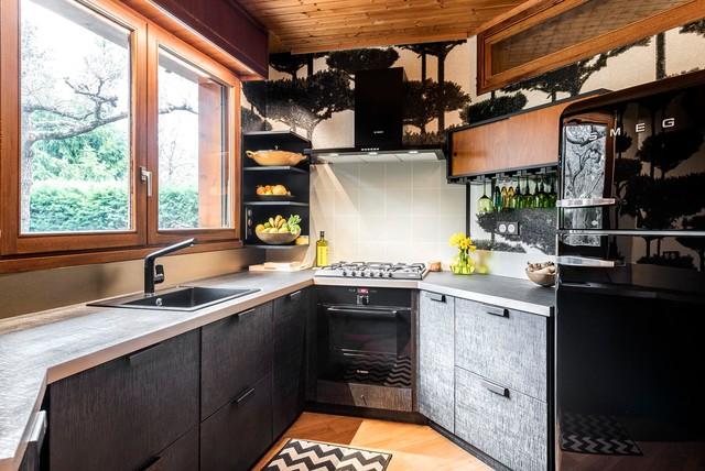 AGENCEMENTS SUR MESURE D\'UNE CUISINE - Contemporary - Kitchen ...